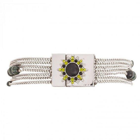 Bracelet sheraz khaki - Bijoux de la marque Hipanema