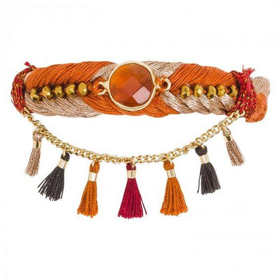 Bracelet Hipanema Tasmania chili - Bijoux de la marque Hipanema