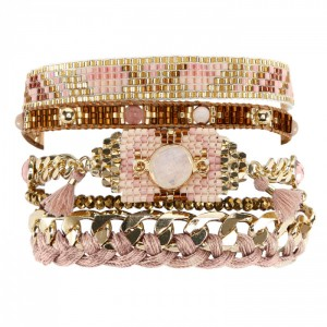Hipanema - Destiny pink bracelet