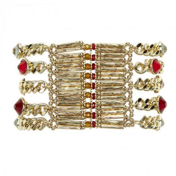 Bracelet Hipanema Condor red - Bijoux de la marque Hipanema