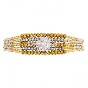 Hipanema - Arizana Bracelet silver / gold