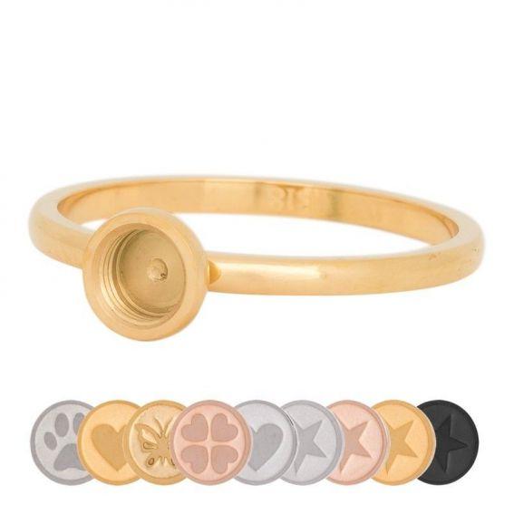 Base dorée pour élément interchangeable iXXXi - Bijoux de marque iXXXi
