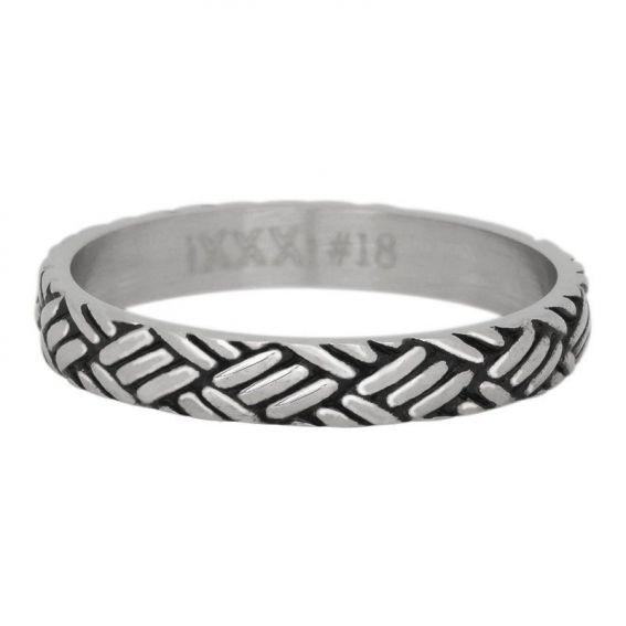 Anneau couvrant iXXXi Love knot argenté - Bijou et bague marque iXXXi
