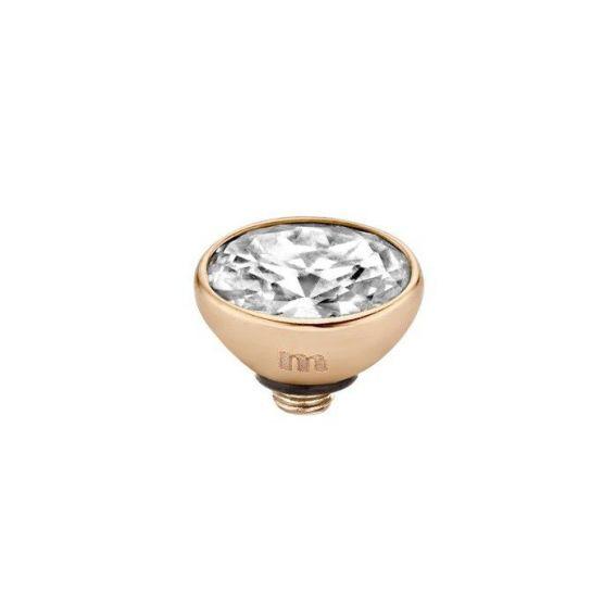 Elément Melano Twisted oval - Marque de bijou et bague Melano
