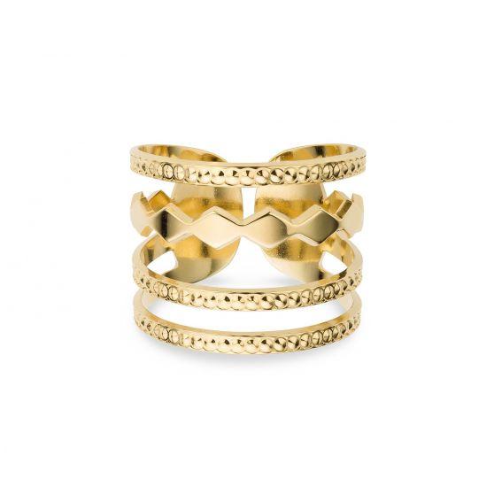 Mya Bay - New York confetti ring
