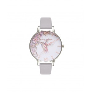 Montre gris Londres et argent Painterly Prints - Montre (watch) Olivia Burton
