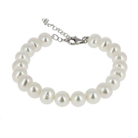 Bijou en argent - Natural pearls