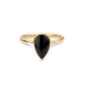 Mya Bay - Bangaram black ring