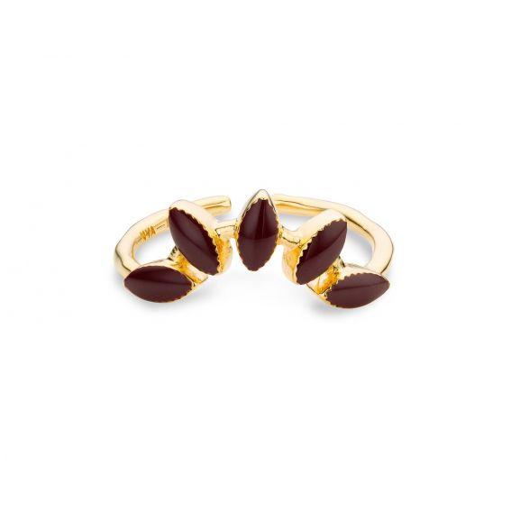Bague MYA BAY la barbade burgundy - Marque et bijoux Mya Bay