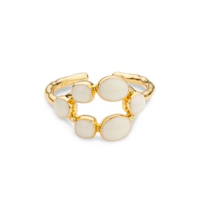 Mya Bay - Ring cayman ivory