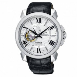 Seiko - Men's watch Roman numerals FIRST Automatic Open Heart