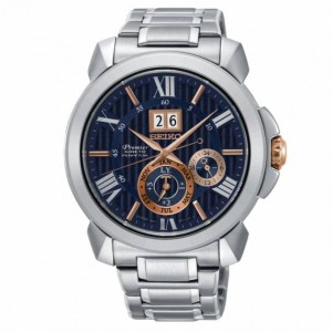 Montre homme PREMIER Auto Relay grande date Kinetic Perpétuel - Montre (watch) Seiko