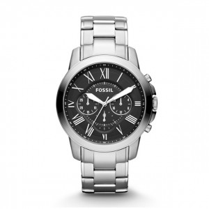 Fossil - Grant Stainless Steel Watch