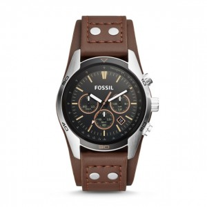 Fossil - Coachman Watch Chronograph Leather - Brown
