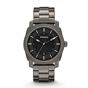 Fossil - Watch machine smoked stainless steel