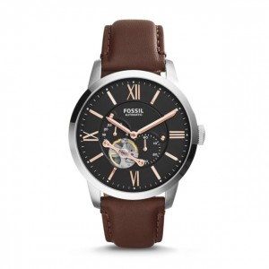 Fossil - Automatic Watch Leather Townsman - Brown