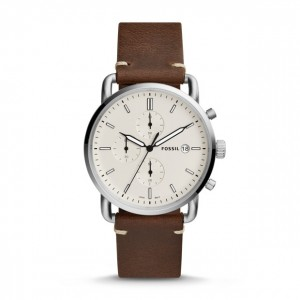 Fossil - The Commuter Watch Chronograph Brown Leather
