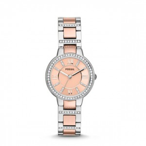 Fossil - Watch Virginia three stainless steel needles - Bicolor