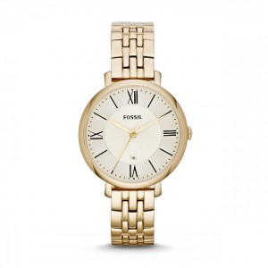Fossil - Watch Jacqueline three stainless steel needles - Gold