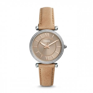 Fossil - Watch Carlie three sand leather needles