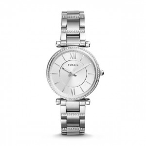 Fossil - Watch Carlie three stainless steel needles