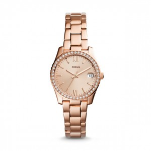 Fossil - Watch Scarlette Three hands with date stainless steel