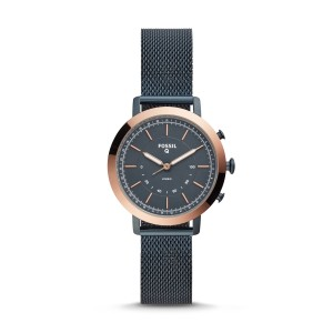 Fossil - hybrid smart watch - fossil q neely with stainless