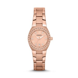 Fossil - Watch colleague stainless steel rose