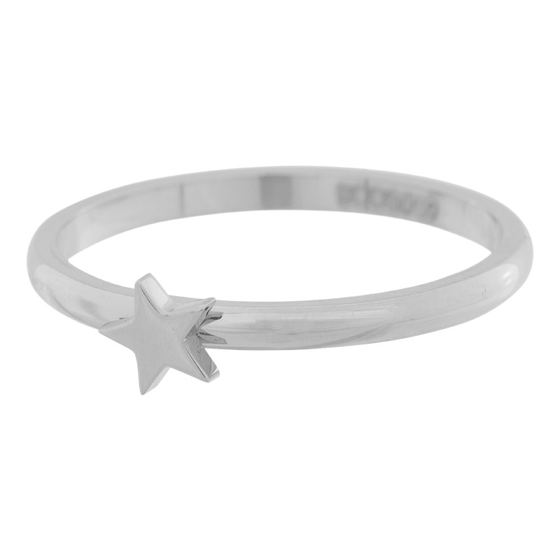 710629ea7c9d2 Anneau symbole étoile iXXXi argenté