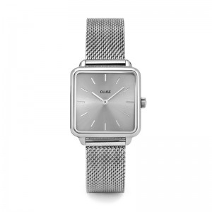 Cluse - Watch CLUSE - The Tetragon full mesh silver