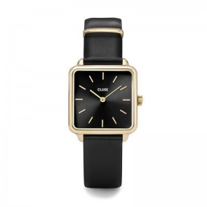 Cluse - Watch CLUSE - The Tetragon Gold Black / Black