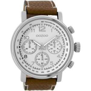 Montre Oozoo Timepieces C9455 brown/white - Marque de montre Oozoo