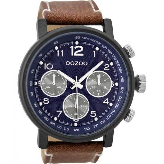 Montre Oozoo Timepieces C9456 brown/blue - Marque de montre Oozoo