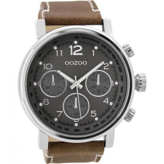 Montre Oozoo Timepieces C9457 brown/darkgrey - Marque de montre Oozoo