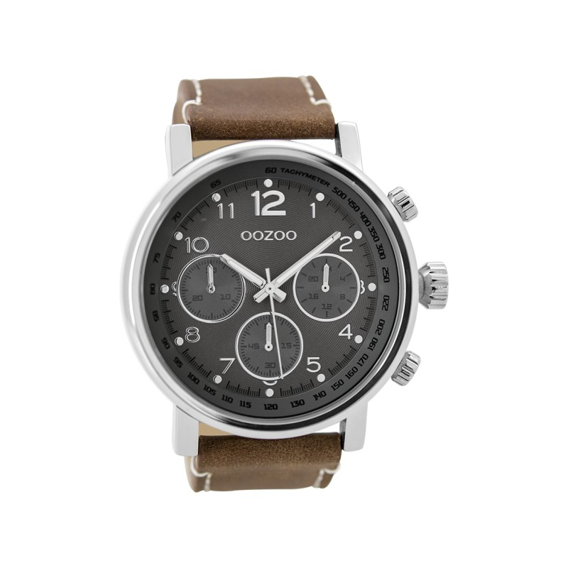 Montre Oozoo Timepieces C9457 brown/darkgrey - Marque de montre Oozoo