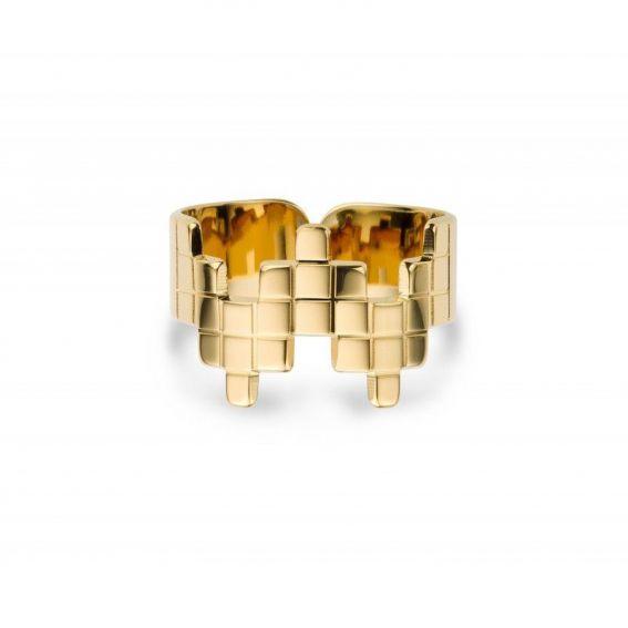 Réduction - Bague MYA BAY brique - Bague et bijou de marque MYA BAY