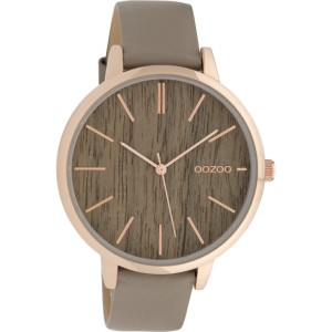 Montre Oozoo Timepieces C9748 taupe - Marque de montre Oozoo