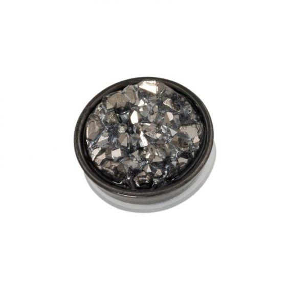 iXXXi - Top drusy dark gray shares
