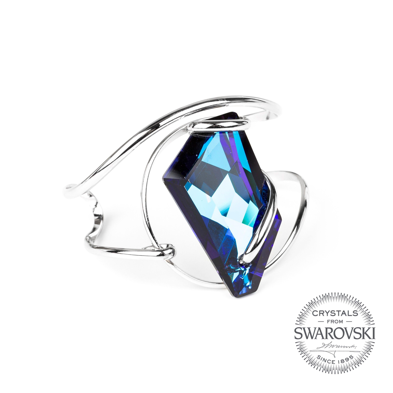 Andrea Marazzini bijoux - Bracelet cristal Swarovski bleu saphir