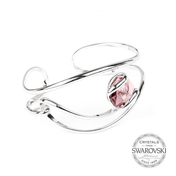 Andrea Marazzini bijoux - Bracelet cristal Swarovski rose