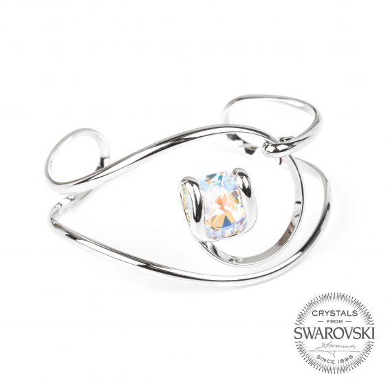 Andrea Marazzini bijoux - Bracelet cristal Swarovski AB