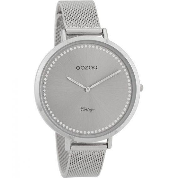 Montre Oozoo Timepieces C9855 silver - Montre de la marque Oozoo
