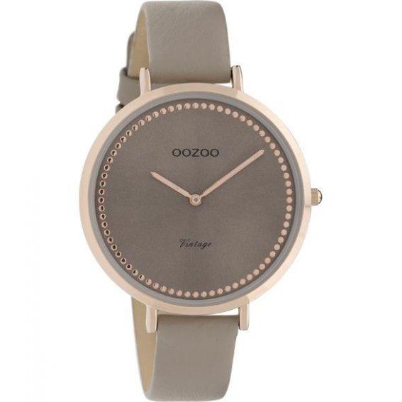 Montre Oozoo Timepieces C9850 taupe - Montre de la marque Oozoo