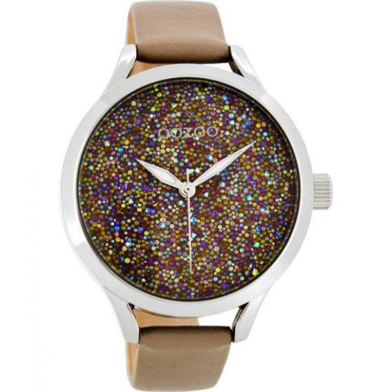 Montre Oozoo Timepieces C9127 taupe - Montre de la marque Oozoo