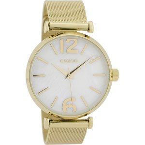 Montre Oozoo Timepieces C9568 gold pearl - Marque de montre Oozoo