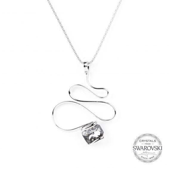 Collier Andrea Marazzini - Bijoux cristal Swarovski night