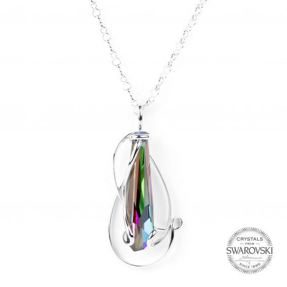 Collier Andrea Marazzini - Bijoux cristal Swarovski stalattite