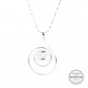 Marazzini - crystal necklace Swarovski AB