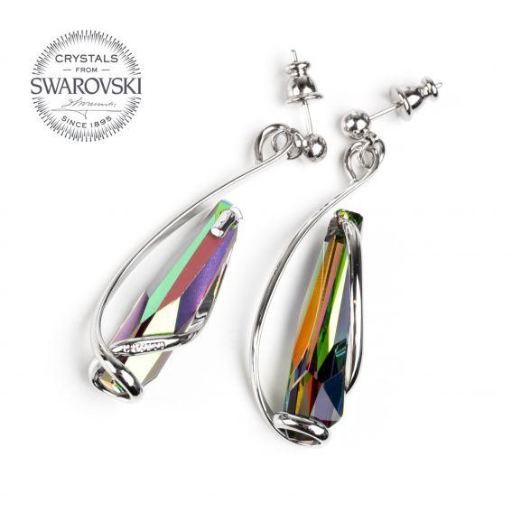 Boucles d'oreille Andrea Marazzini - Cristal Swarovski stalattite