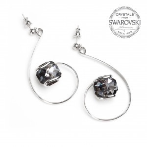 Marazzini - Earrings Swarovski crystal night